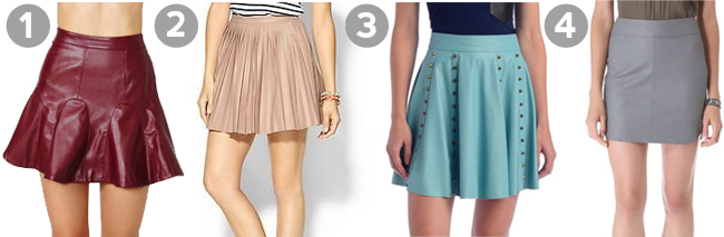 the leather skirt guide tenise