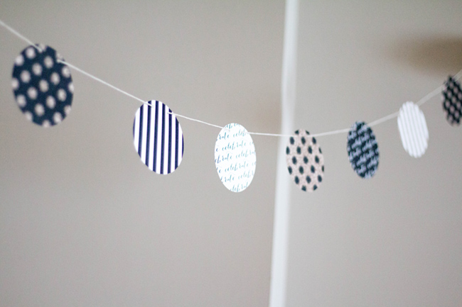 minted party banner