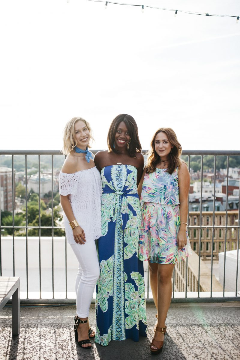blogger scene, dc fashion bloggers, fashionably broke, its julien, lilly pulitzer summer 2016 collection