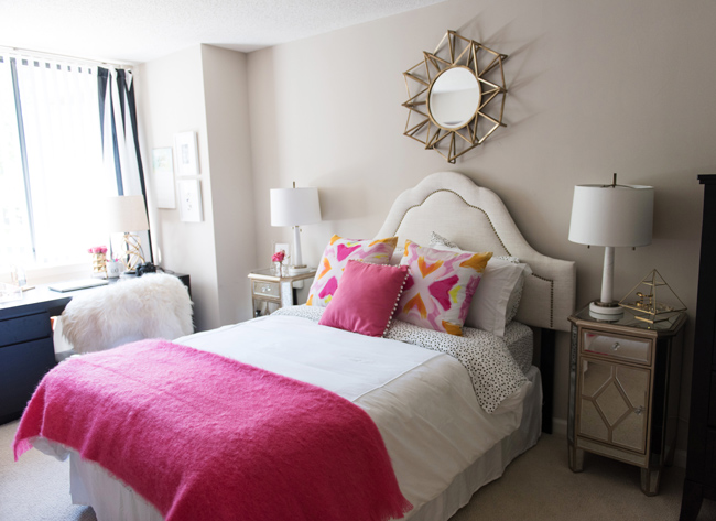 Awesome Pink And Orange Bedroom Pictures Home Design