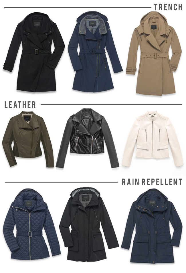 fall jacket trends 2016, andrew marc jackets, affordable rain jackets