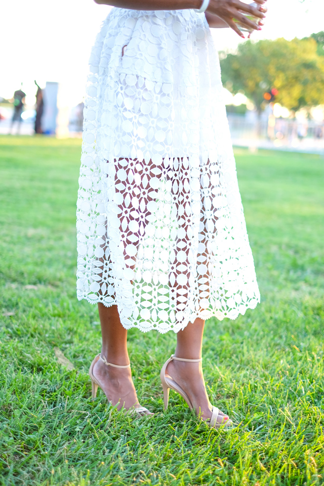 Diner en blanc d c x rent the runway alicia tenise for Rent wedding dress dc