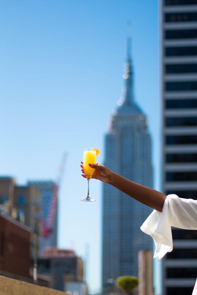 D.C. travel blogger Alicia Tenise visits Sofitel New York's Rooftop