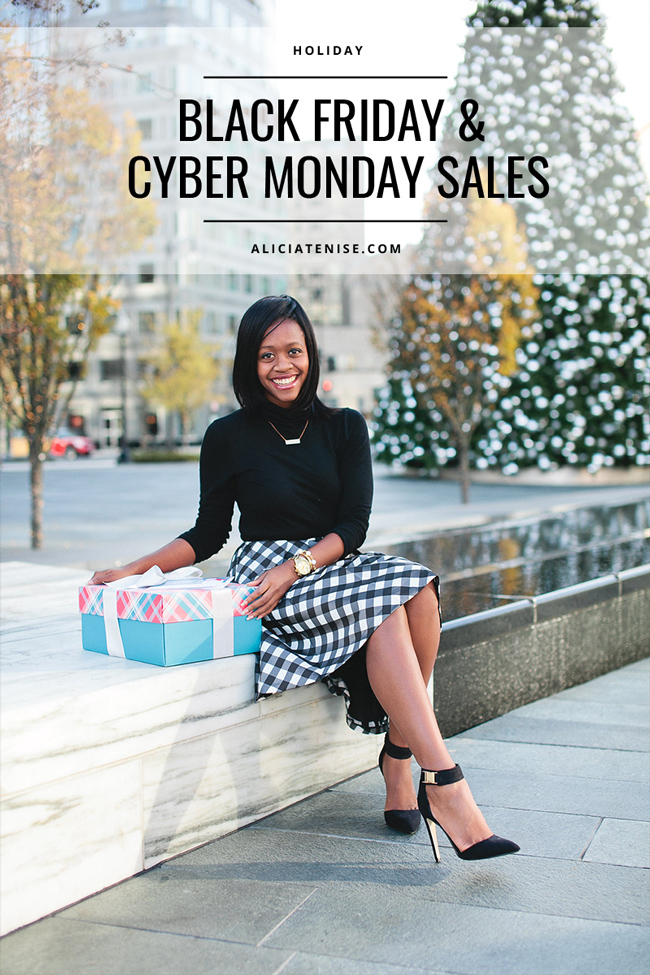 D.C. blogger Alicia Tenise shares her favorite Black Friday and Cyber Monday sales of 2016