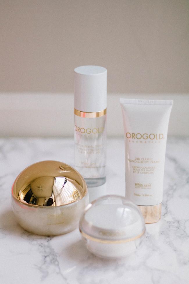 Orogold gold skincare