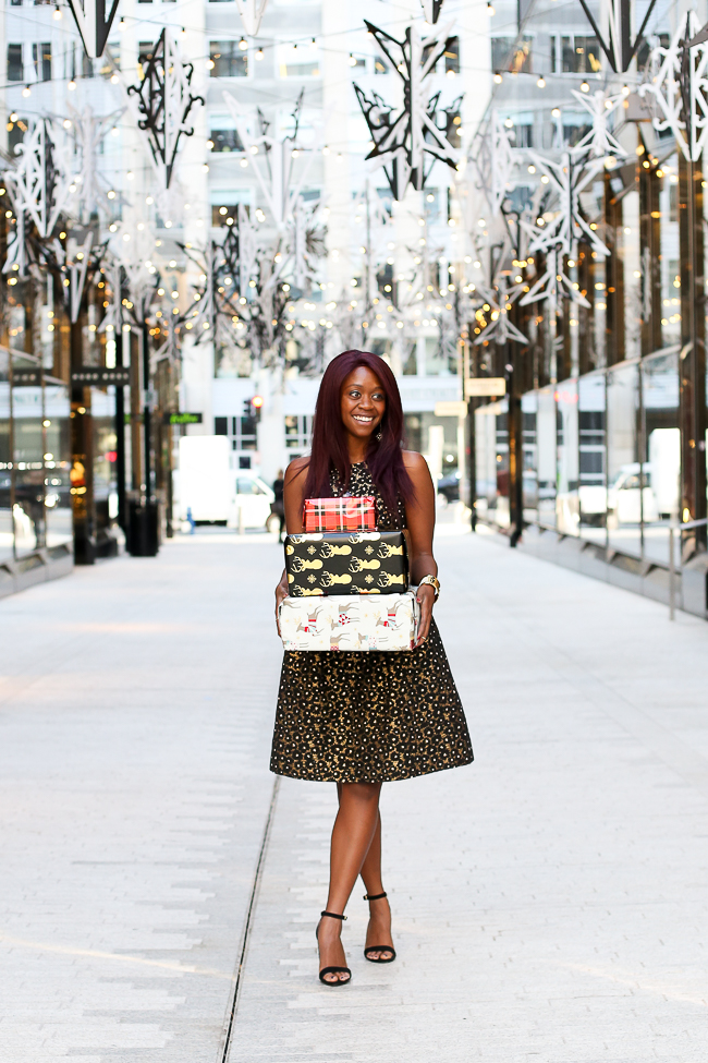 D.C. blogger Alicia Tenise styles the Shoshanna Greta Dress from Rent the Runway