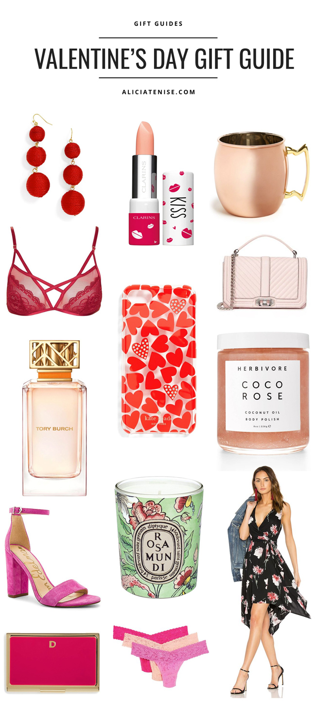 D.C. blogger Alicia Tenise shares a Valentine's Day Gift Guide for Her