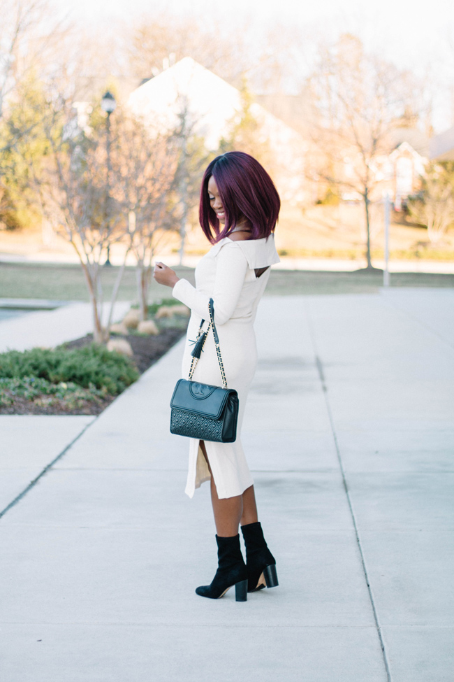 Top D.C. fashion blogger, what to wear on a winter date night