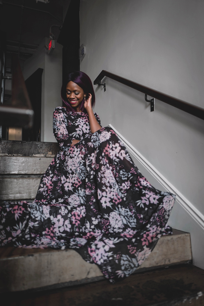 D.C. blogger Alicia Tenise styles the Yumi Kim Woodstock Maxi Dress