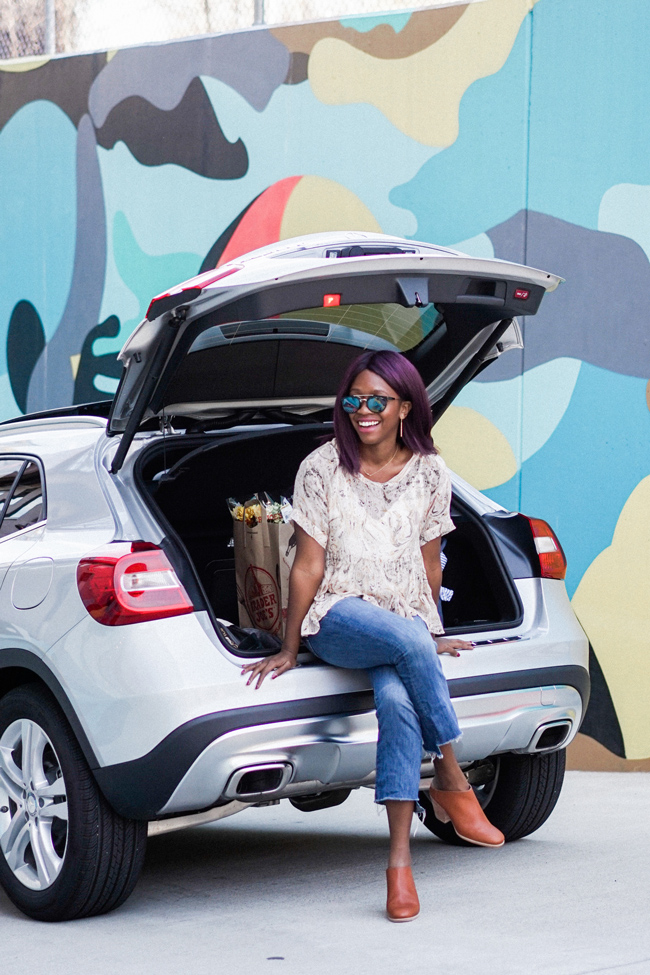 D.C. blogger Alicia Tenise takes a spin in the Mercedes-Benz fleet of car2go vehicles