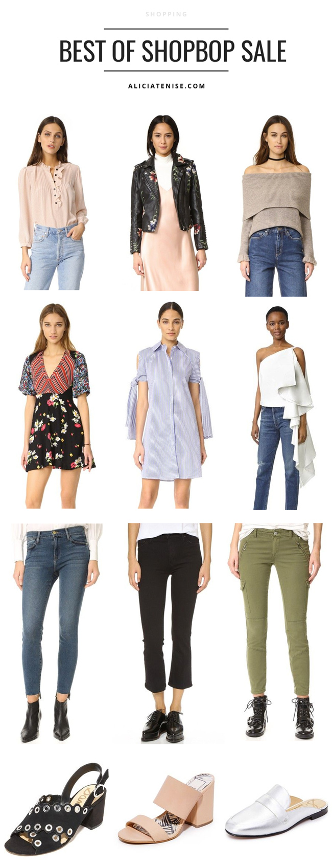 D.C. blogger Alicia Tenise shares her top fashion picks from the Shopbop Go Big Sale.