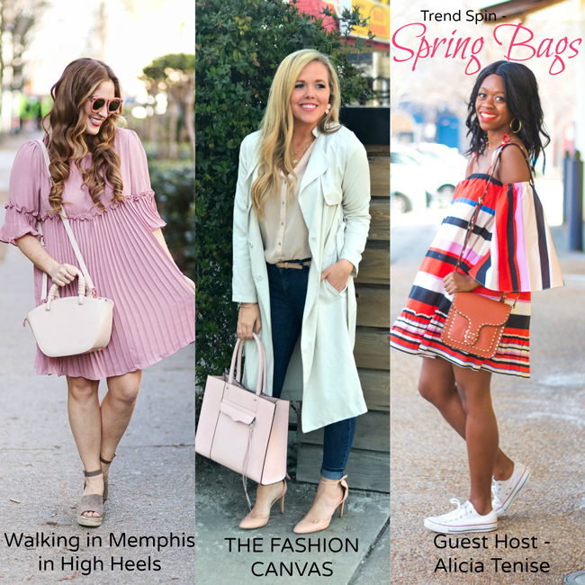 Trend Spin Linkup - Spring Bags