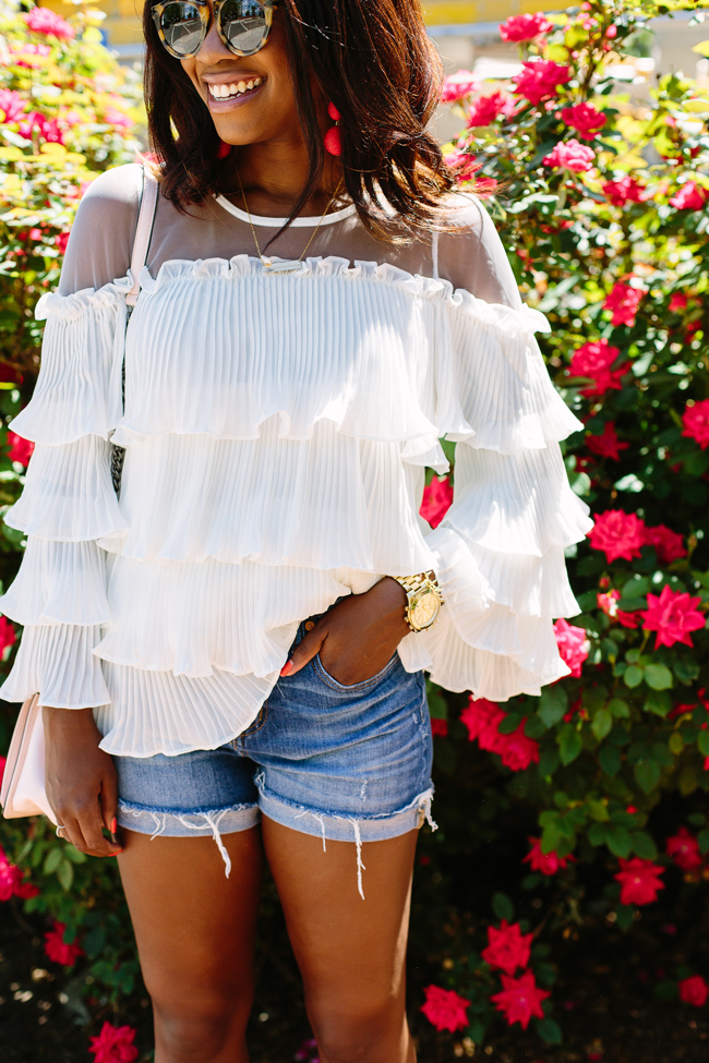 Chicwish Tiered Blouse