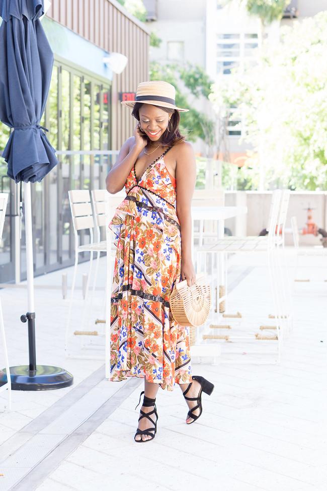 Hunter Bell Floral Sasha Dress