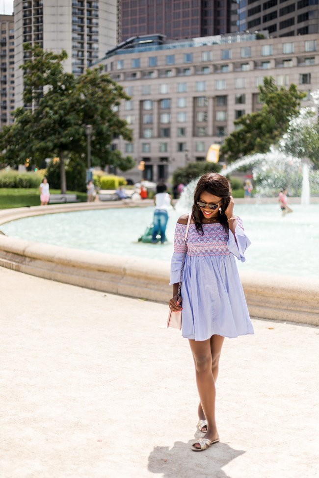 Affordable Off the Shoulder Dress for Summer