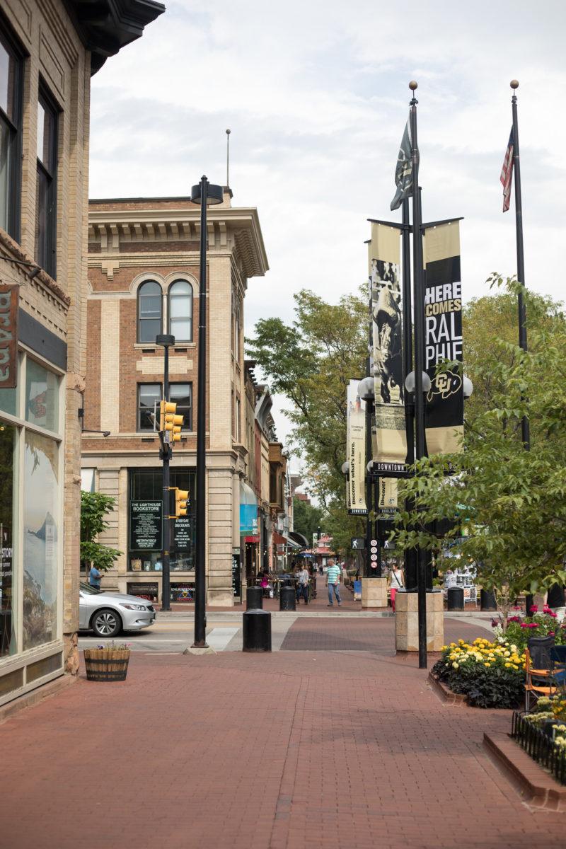 Boulder Colorado Downtown Mall