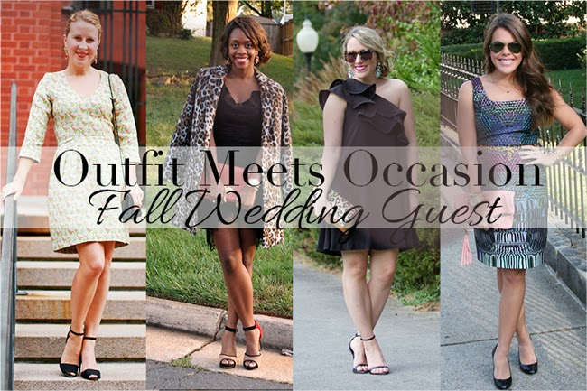 Outfit Meets Occasion / Fall Wedding Attire | Alicia Tenise