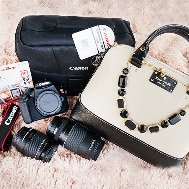 Kate Spade Canon Rebel Giveaway
