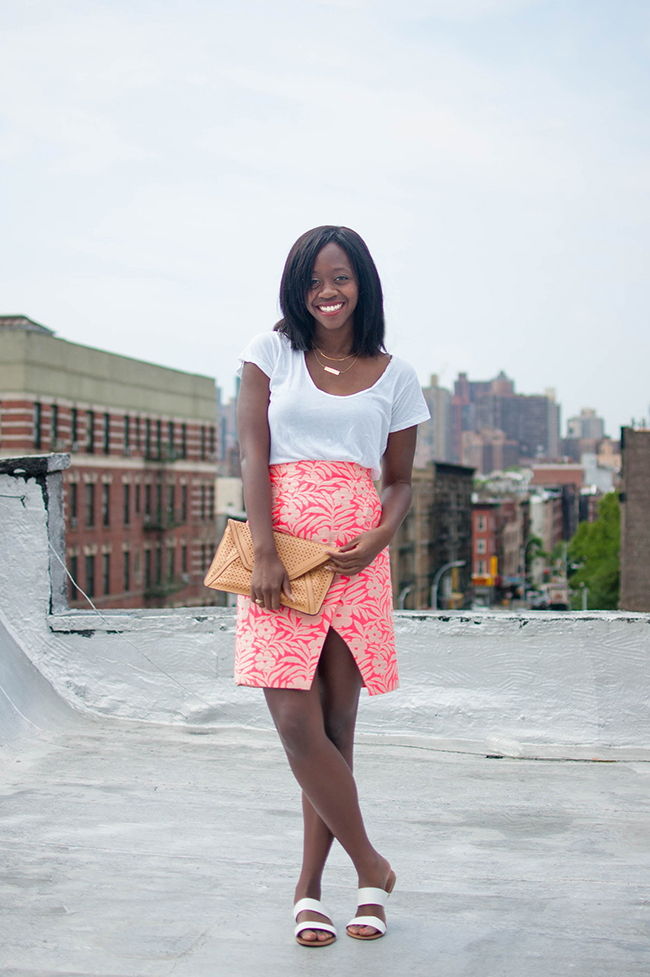 J.Crew Crossover Pencil Skirt, loft banded sandals, Alicia Tenise, DC Fashion Blogger