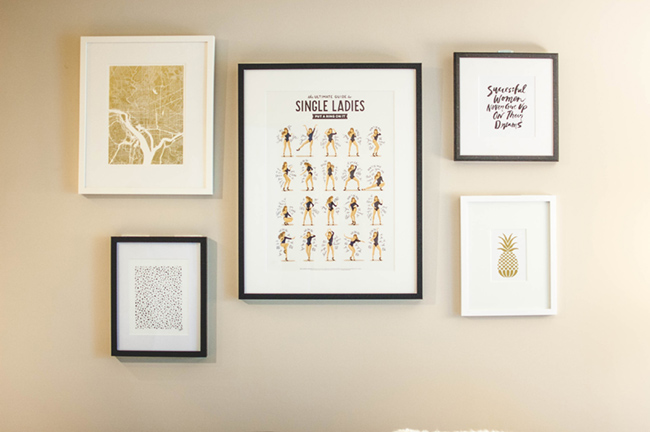 framebridge custom frames, gallery wall,
