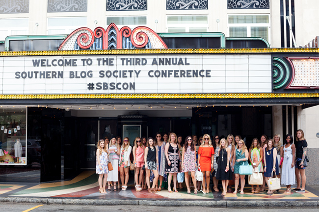 sbscon, charleston, blogger conference, southern blog society