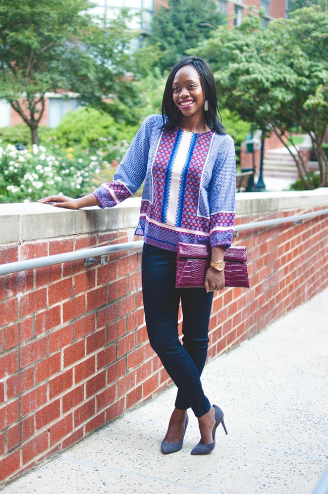 talbots denim, dc blog, arlington fashion blogger