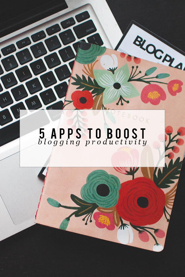 apps for bloggers, blogging advice