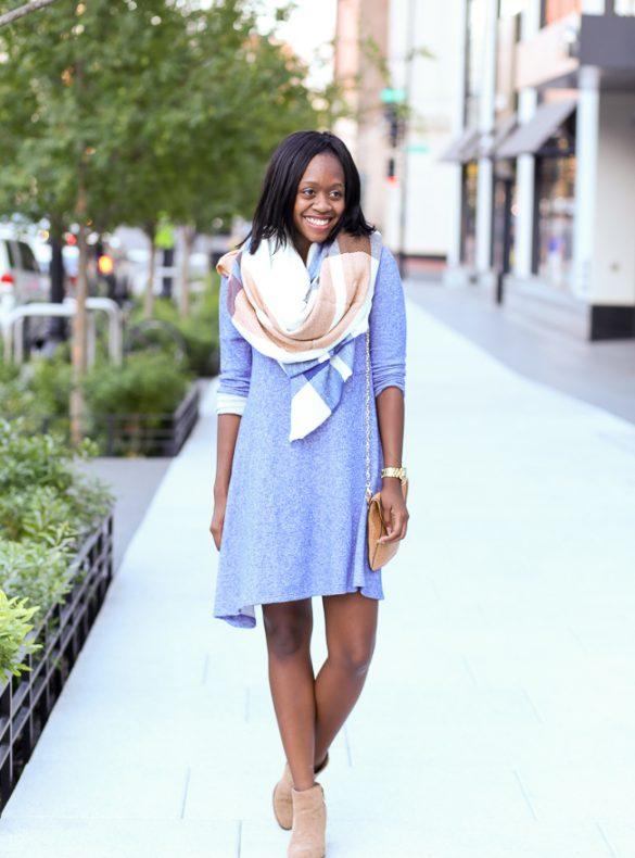 my kind of lovely, asos blanket scarf, dc blogger
