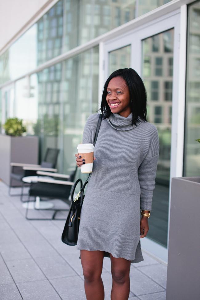 Lafayette 148 New York, turtleneck sweater dress, dc blogger, virginia fashion blog
