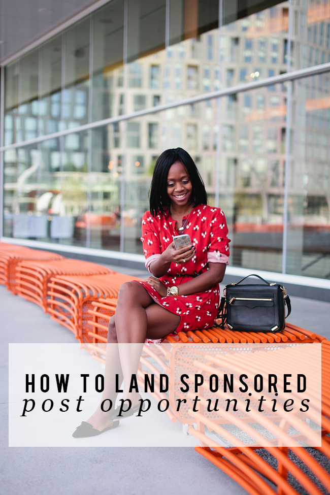 how-to-get-sponsored-posts-as-a-blogger - How To Land Sponsored Post Opportunities by DC fashion blogger Alicia Tenise