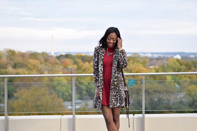 bailey blue dress, holiday dress, bb dakota hazel coat, office holiday party outfit ideas, dc blogger