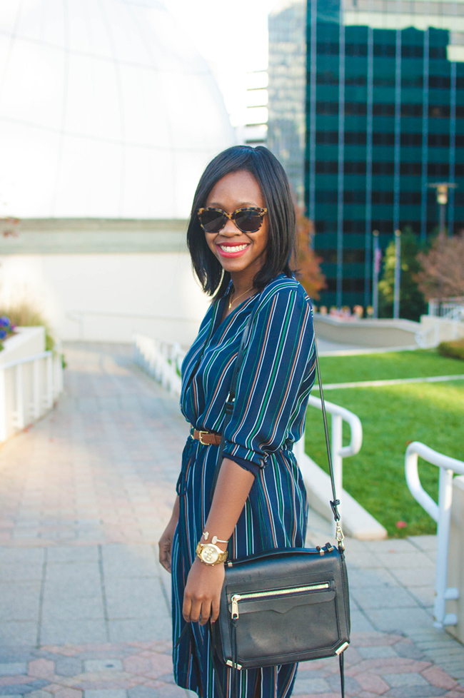 reddz trading, georgetown blogger crawl, theory striped shirtdress, dc consignment shops