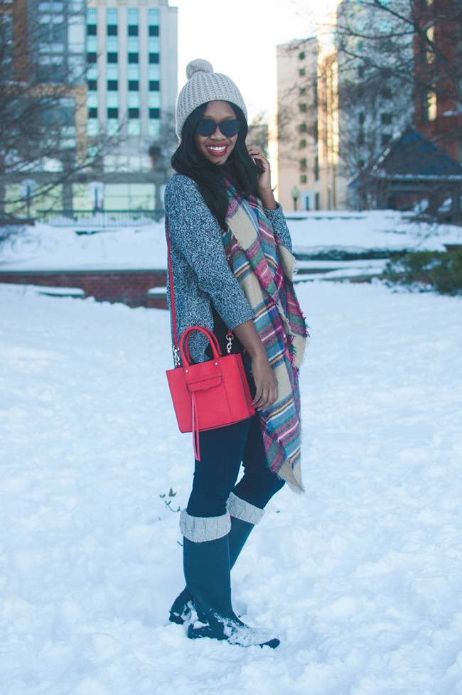 What to Wear on a Snow Day | Alicia Tenise