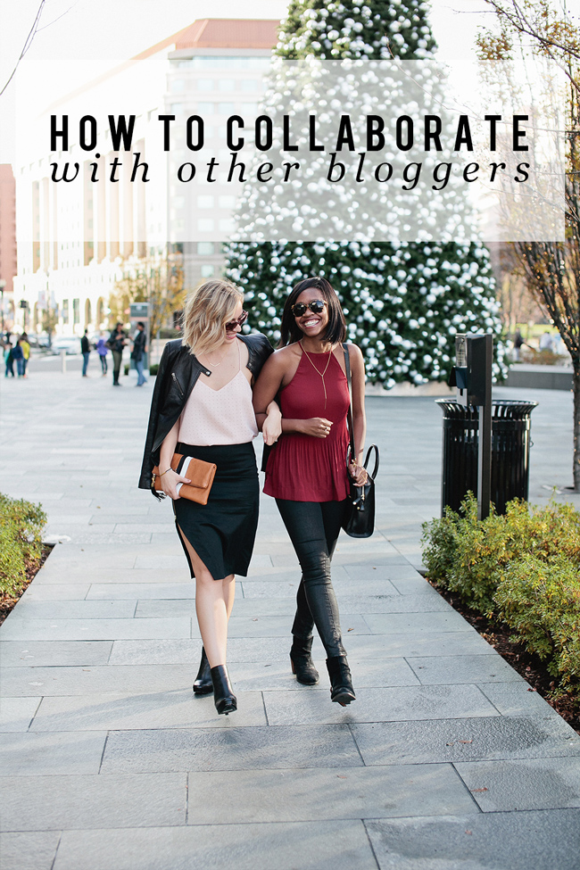 how-to-collaborate-with-other-bloggers - Blogger Collaborations: How to Collaborate with Other Bloggers by popular Washington DC blogger Alicia Tenise
