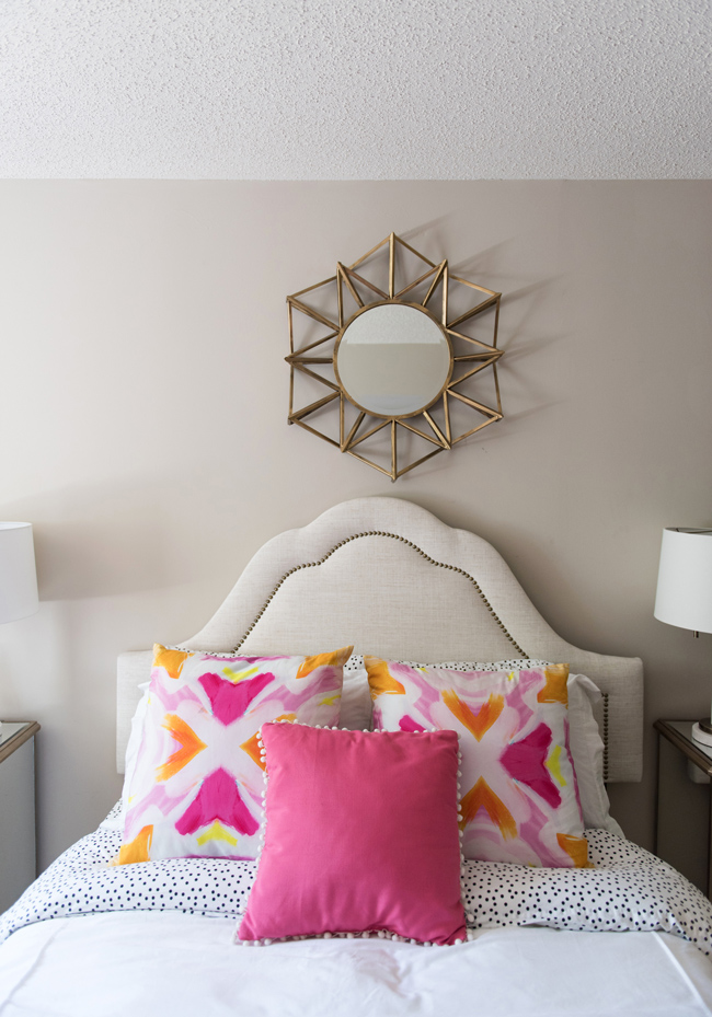 Pink and Orange Bedroom Decor Ideas | Alicia Tenise