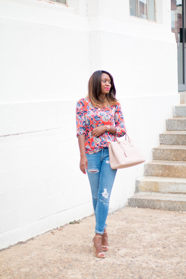 39f6e73dc8 D.C. Blogger Alicia Tenise styles a pick from Liz Claiborne s 40th  Anniversary Collection from JCPenney