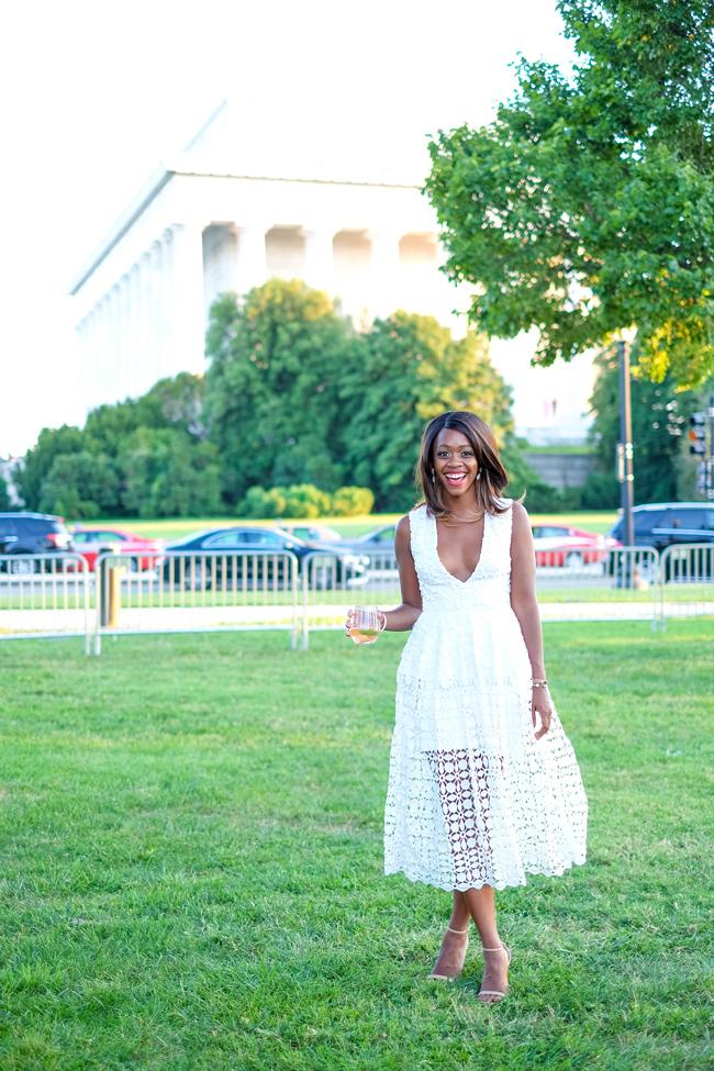 What to Wear to Diner En Blanc - Washington D.C.