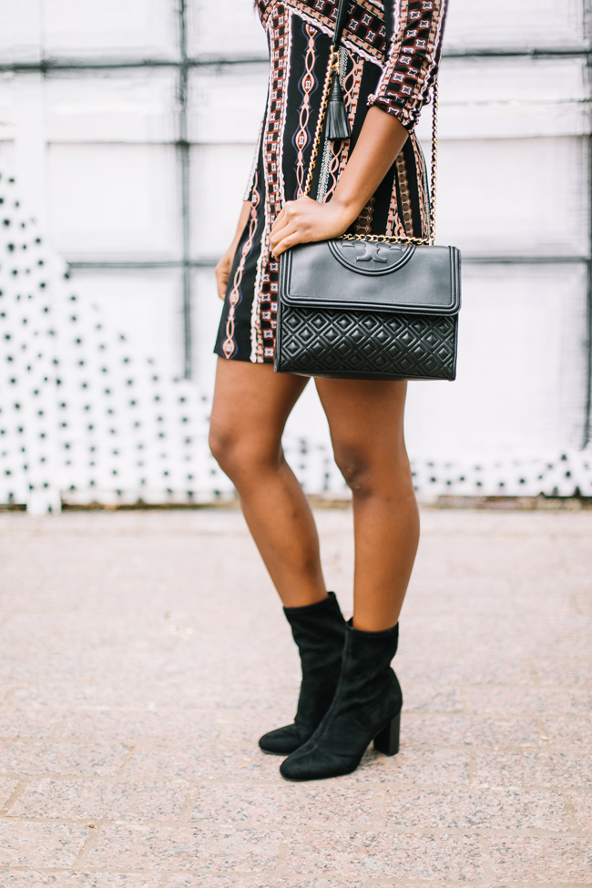 Tory Burch Fleming Bag, Vince Camuto Sendra Boot