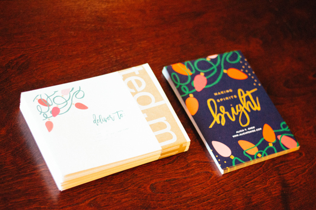 Top Virginia life and style blogger Alicia Tenise reviews the Minted Holiday Cards: picture Gold Foil Minted Holiday Cards