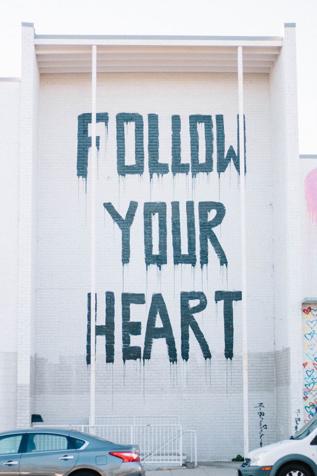 Union Market D.C. Follow Your Heart Mural
