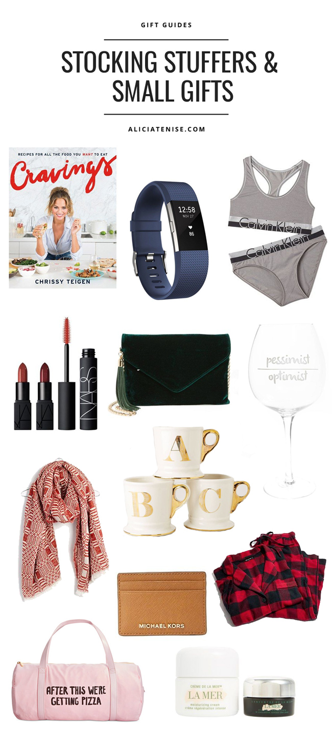 Gift Guide Stocking Stuffers Small Gifts Alicia Tenise
