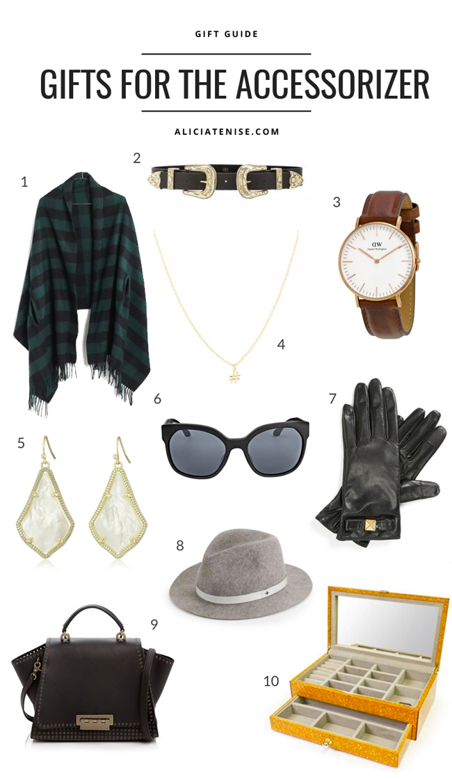 D.C. blogger Alicia Tenise shares her favorite accessory gift picks from eBay.