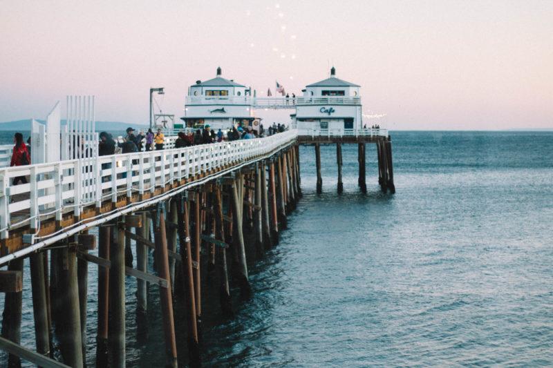 Malibu Farm Restaurant Pier