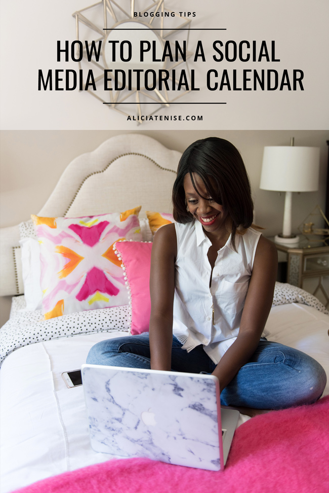 D.C. blogger Alicia Tenise shares how she plans her blog and social media editorial calendar out with the help of CoSchedule