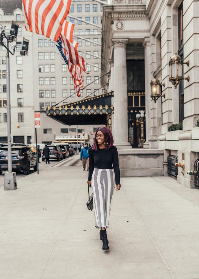 Blogger Shoot at The Plaza Hotel NYC