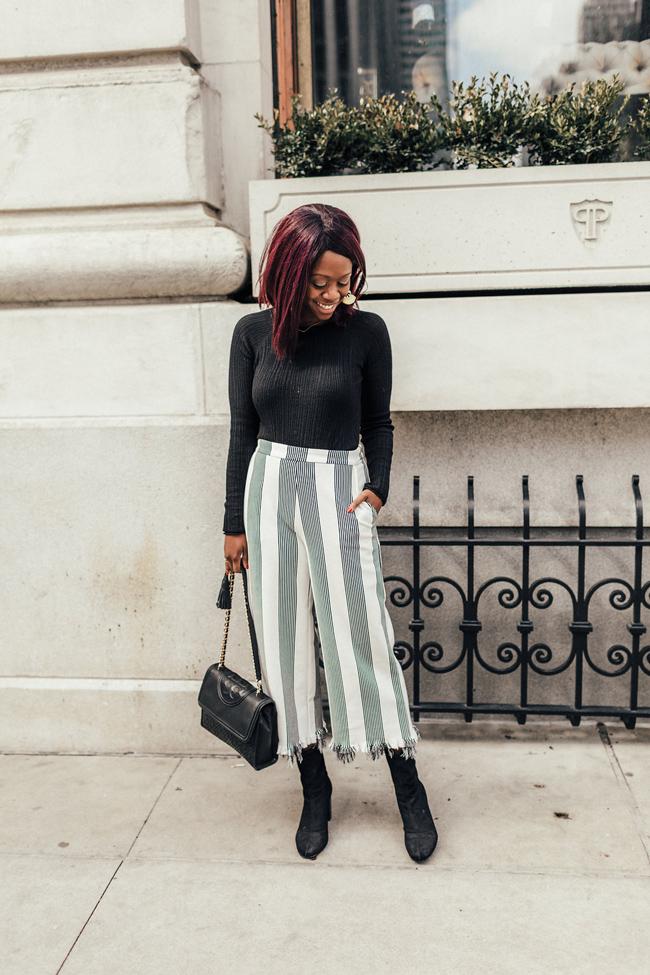 Kerisma Elm Lightweight Crop Pullover Sweater, Tory Burch Fleming Bag, D.C. Fashion Blogger