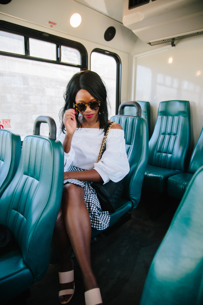 Northern Virginia blogger Alicia Tenise teams up with the Arlington Car Free Diet campaign