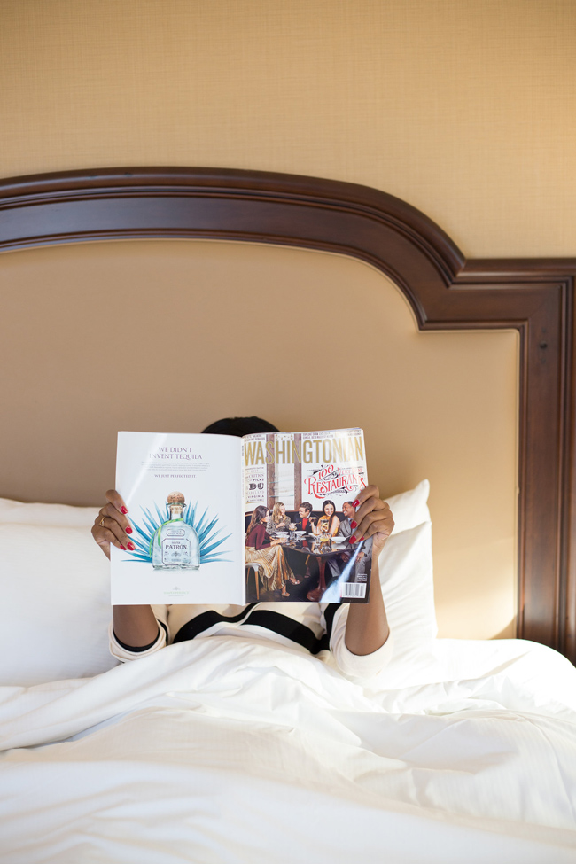 D.C. blogger Alicia Tenise recaps her staycation at the Capital Hilton