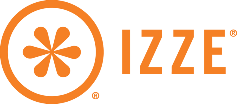 IZZE Logo Orange