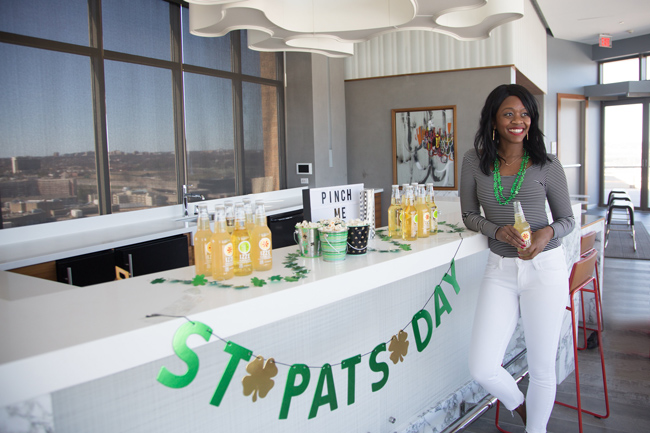 How to Host a St Pattys Day Party with IZZE
